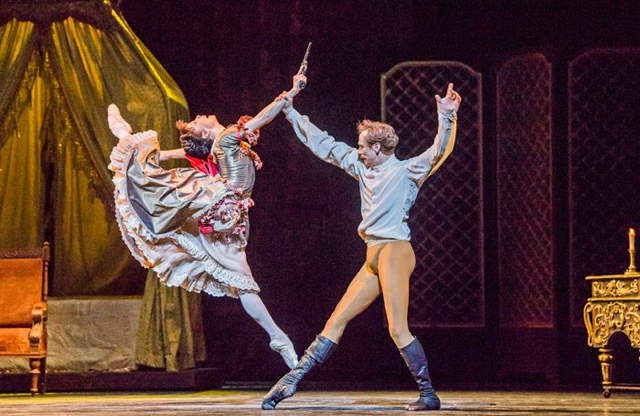Natalia Osipova and Edward Watson in Mayerling at Royal Opera House, London. Photo: Tristram Kenton