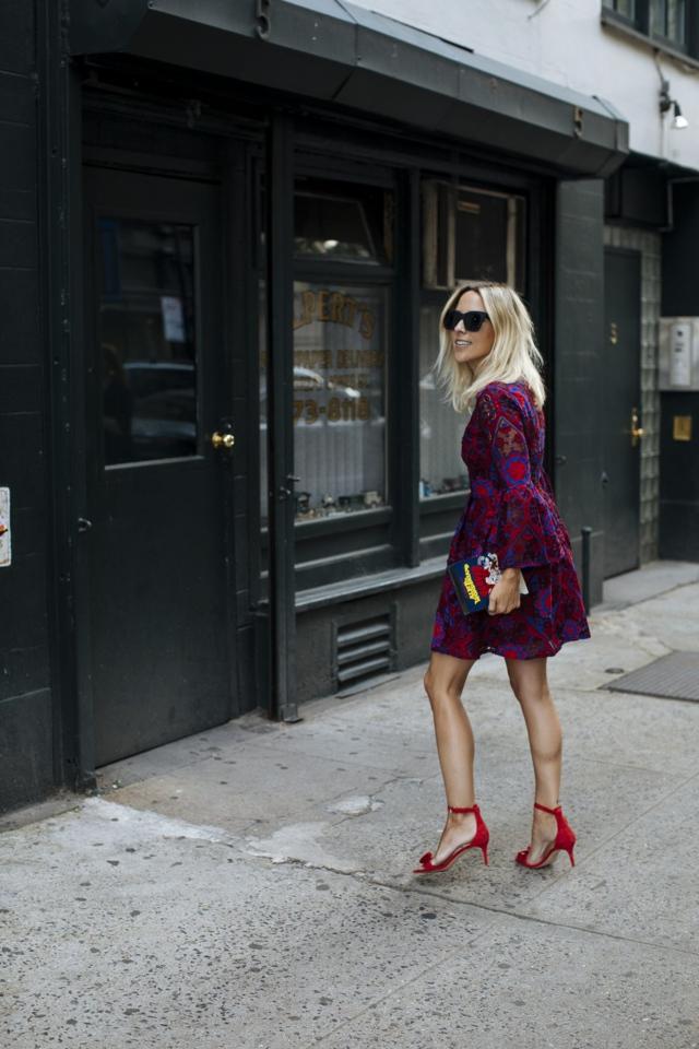 dress red shoes, edit Instagram photos