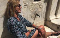 Greek Island Vibes // Kaftan maxi dress