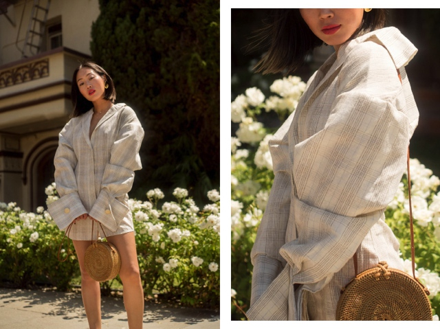 Aimee_song_of_style_jacquemus_dress_round_wicker_bag_celine_sandals