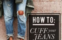 4 ways to cuff jeans