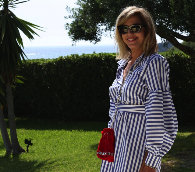 Nina Papaioannou shirt dress