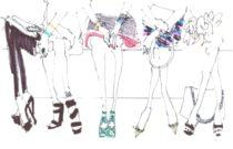Shoes Trend Alert // Sock booties and kitten heels