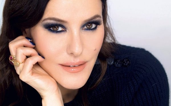 Lisa Eldridge blue makeup