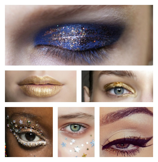 New year eve makeup