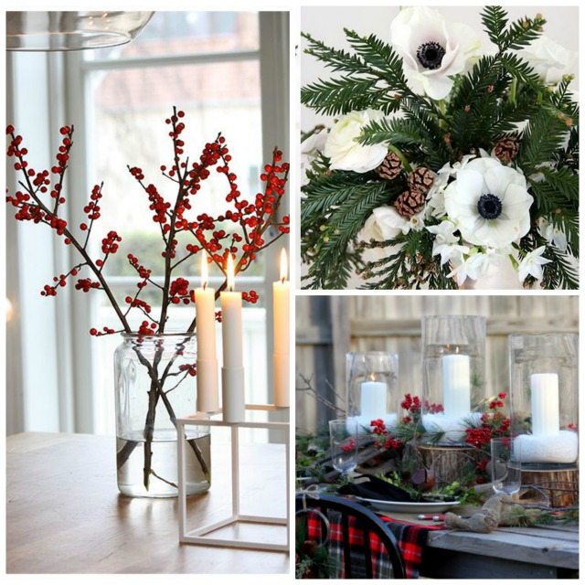 christmas flower decor
