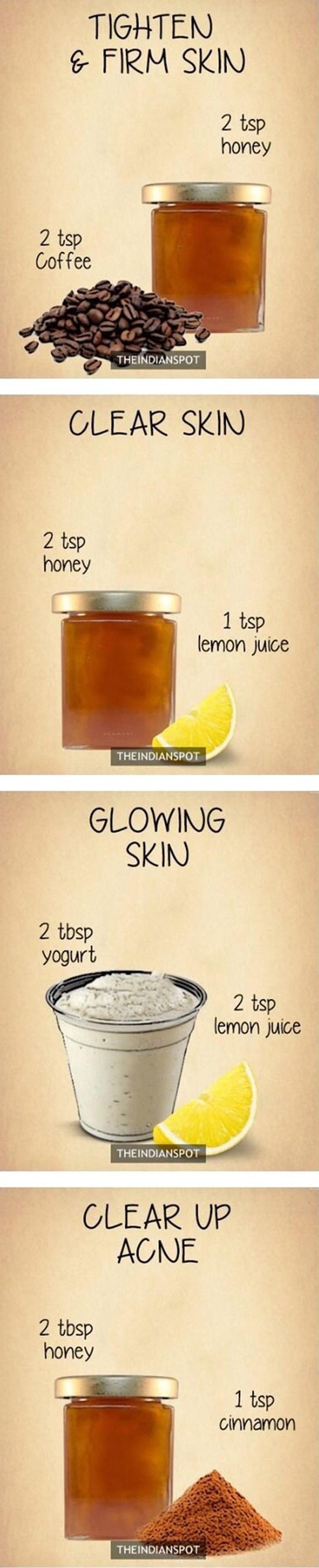 How to get clear glowing skin overnight?