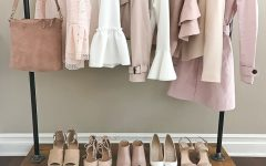 Muted pink rack