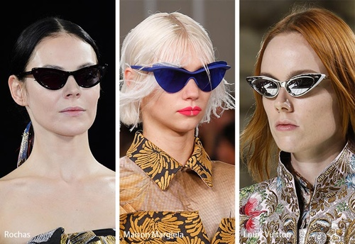 SS 2018 cat eye sunglasses