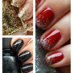 Best way to apply glitter nail polish
