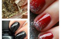 Best way to apply glitter nail polish