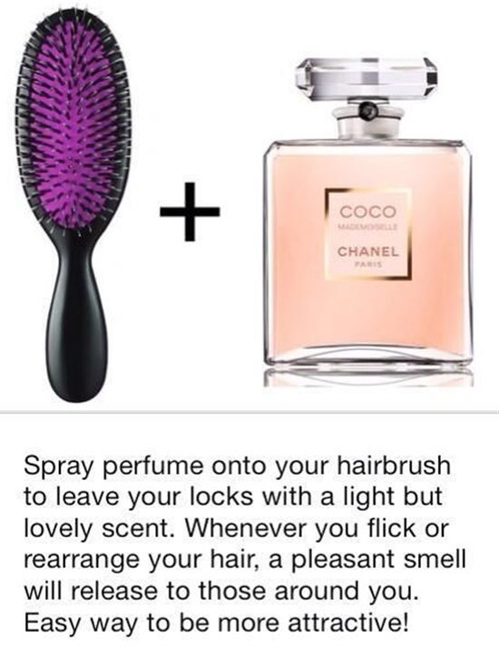 how to add lovely scent to your hair