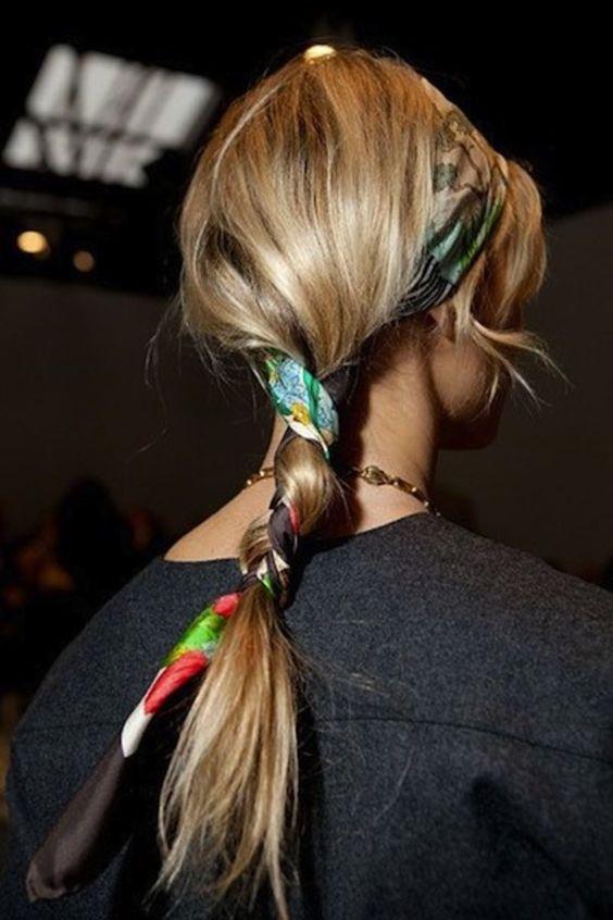 scarf braided