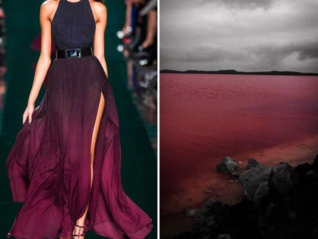 Elie Saab F:W 2014:15 Pink Lake, Australia