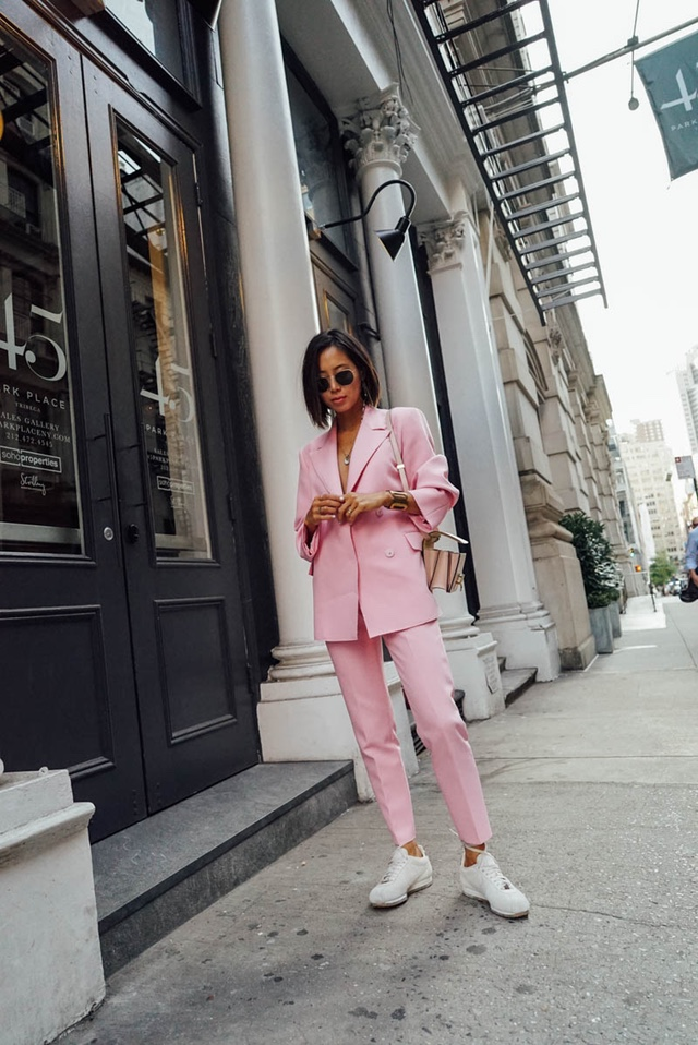 total blush power suit