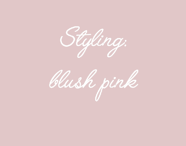 CStyling blush pink home decor04