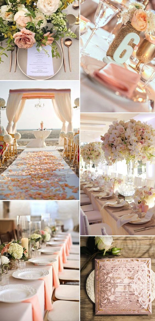Dinner party blush pink home decor06