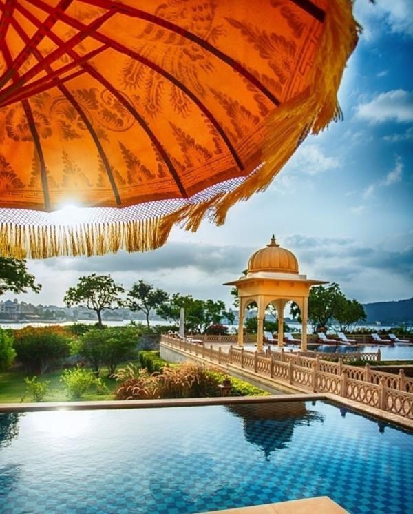 Oberoi villas udaipur