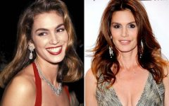 Age-Defying Beauty Secrets by Cindy Crawford,Then now03
