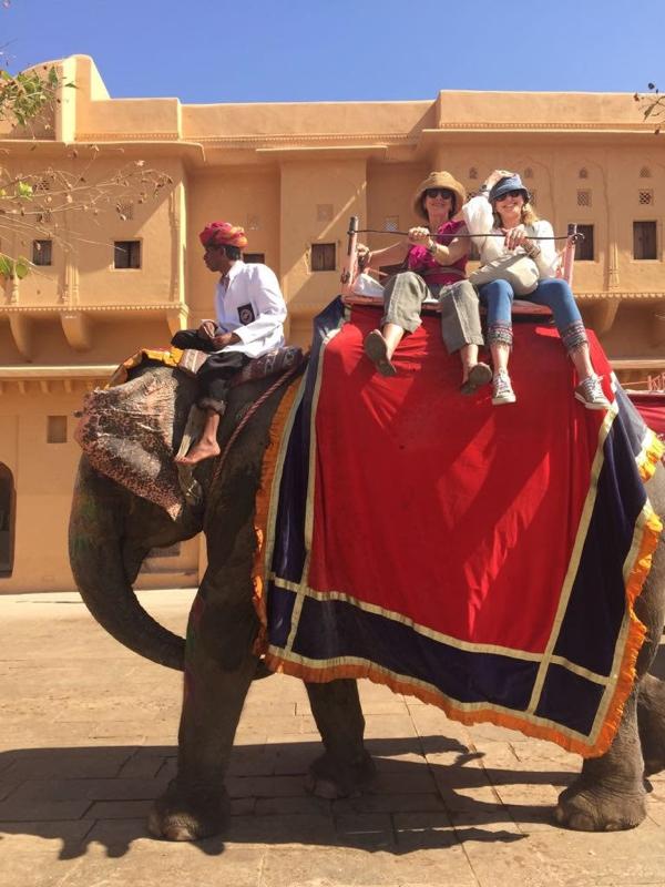 Amer fort elefants jeans Nina Papaioannou