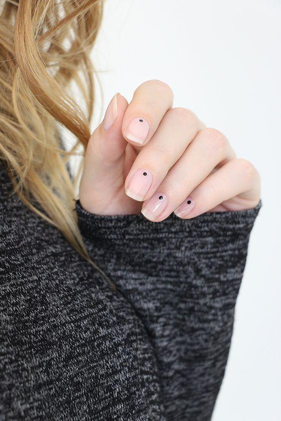 just a dot nails