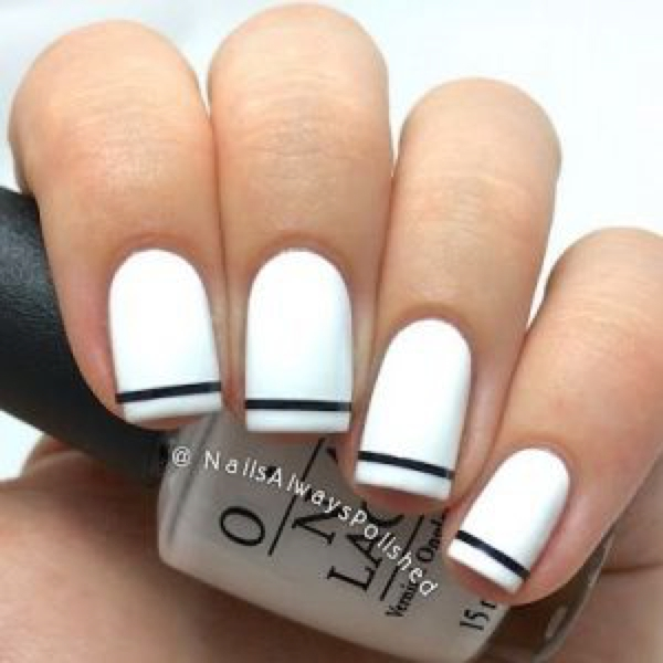 10 Chic White Nail Trend Ideas Trendsurvivor