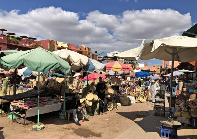 Marakesh market