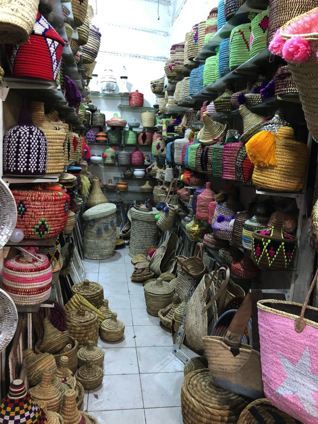 Marrakesh baskets