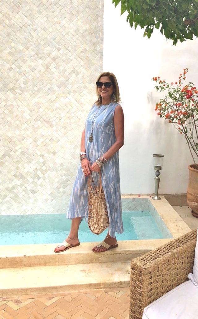 Trendsurvivor Riad Idoine Yvonne Alexandridou linen dress