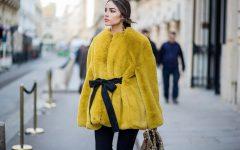 Yellow fur