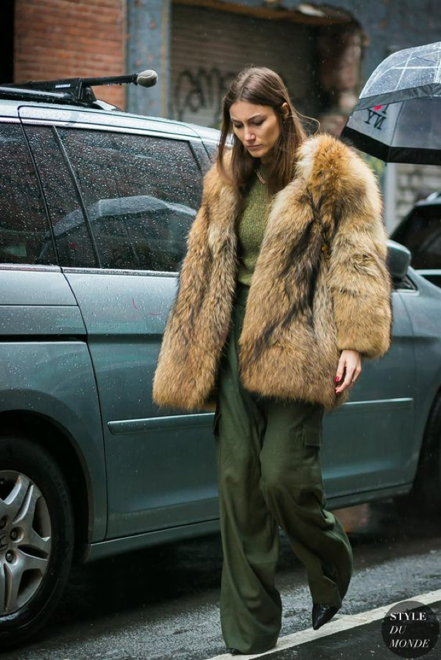 classic style fur