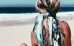 Best summer hair tip wear scarf03
