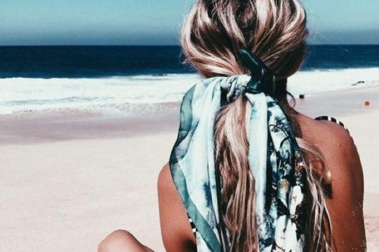 Best summer hair tip wear scarf03