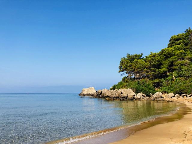 Corfu Glyfada beach