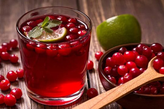 cranberry juice thiroid inflamation