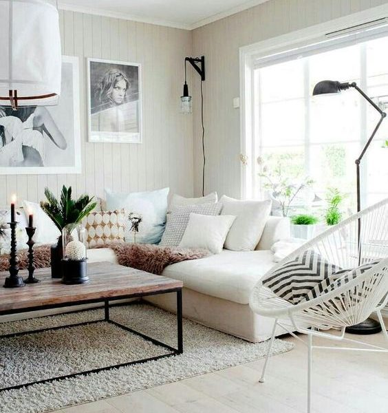 6 Easy Steps to a dreamy living room -lamps