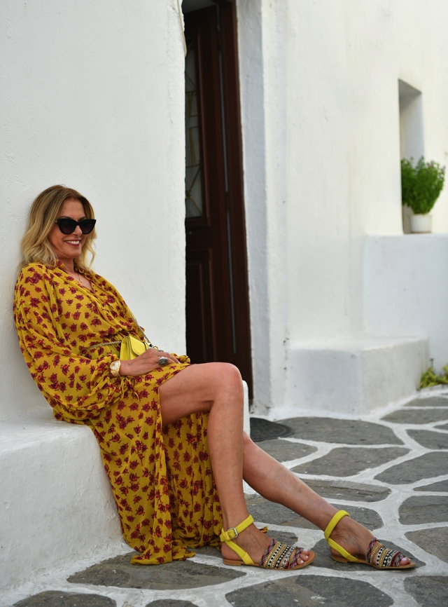 Trendsurvivor summer style floral dress Paros 05