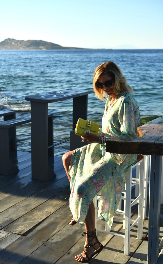 Nina Papaioannou Kaftan dress