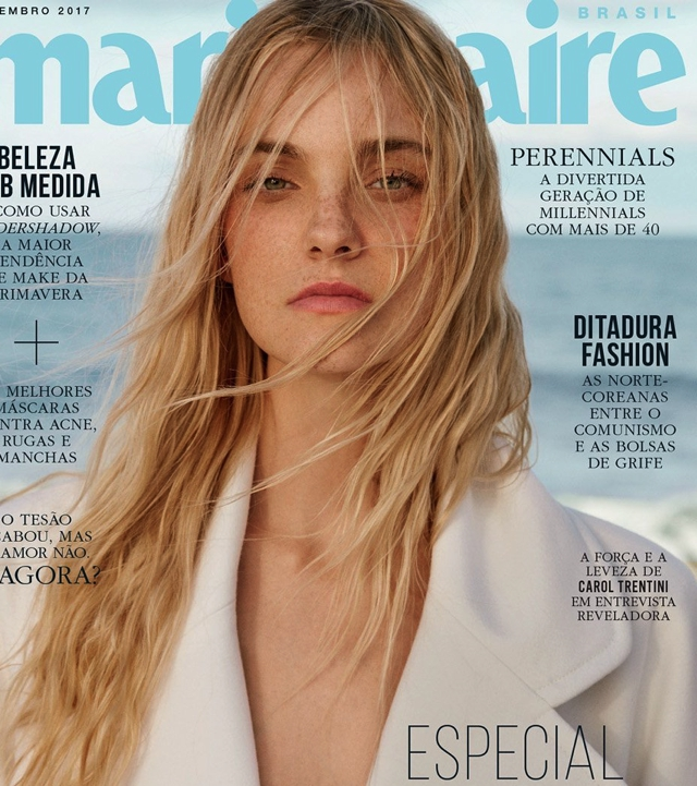 Supermodel's Caroline Trentini Food for Skin