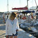 Summer Greek Island Style // Shorts