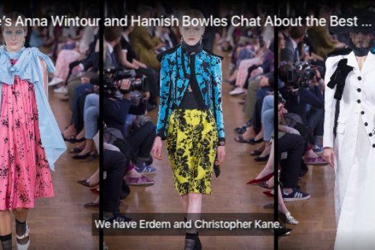 London Fashion Week : Anna Wintour Pragmatic and Wearable
