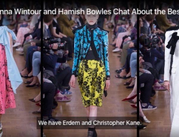 London Fashion Week : Anna Wintour Pragmatic and Wearable