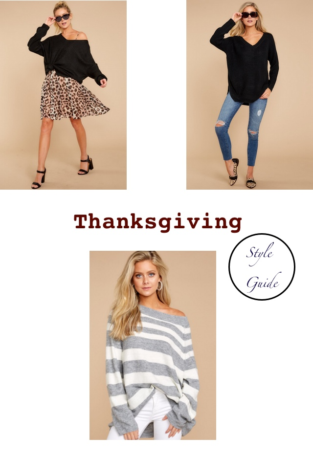 Thanksgiving Style Guide