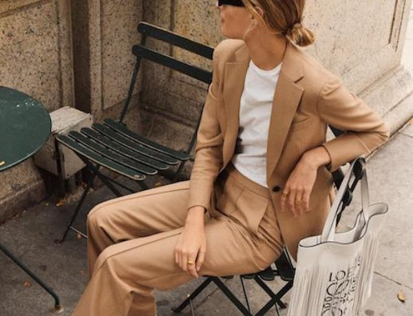 Blog-Blogger-Style-Christie-Tyler-Sunglasses-Camel-Suit-White-T-Shirt-Black-White-Sneakers-Via-nycbambi