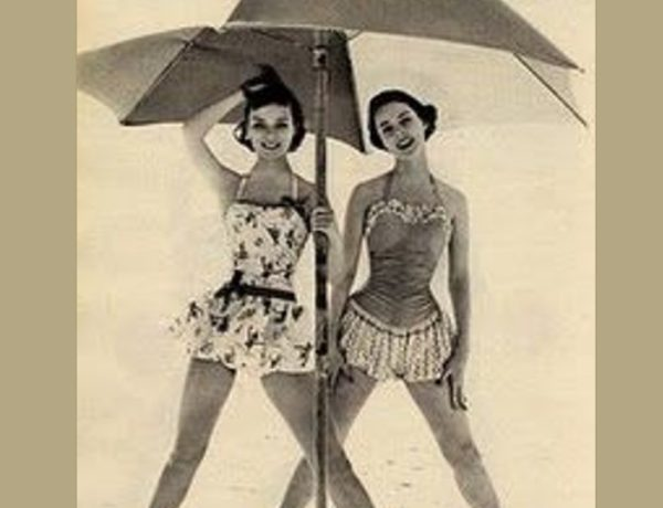 swim dress retro