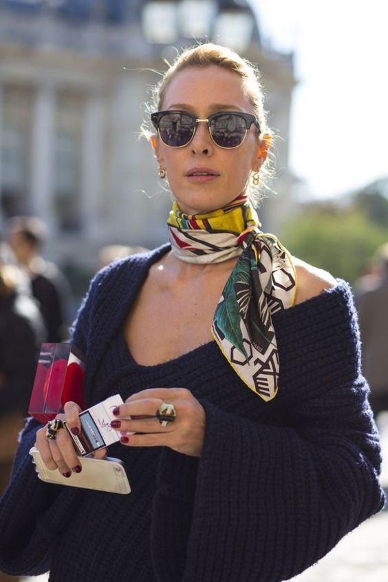 5 Ways To Wear A Silk Headscarf Trendsurvivor