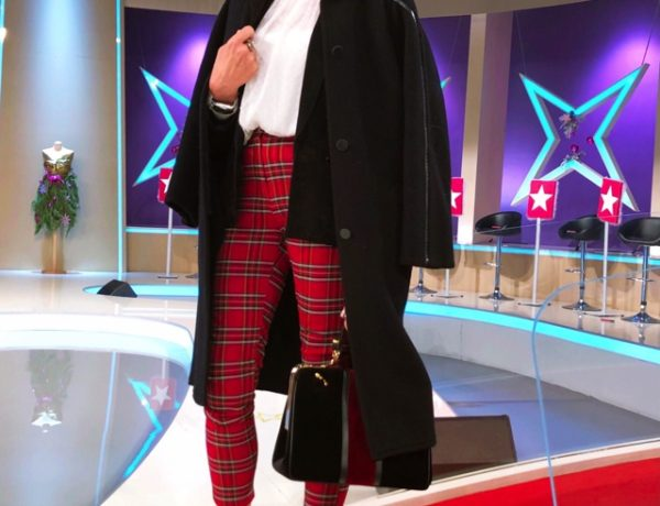 Nina Papaioannou MCheck pants