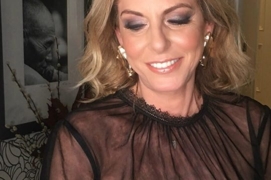 Nina Papaioannou party makeup tips