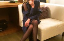 Dinner date // Blue dress