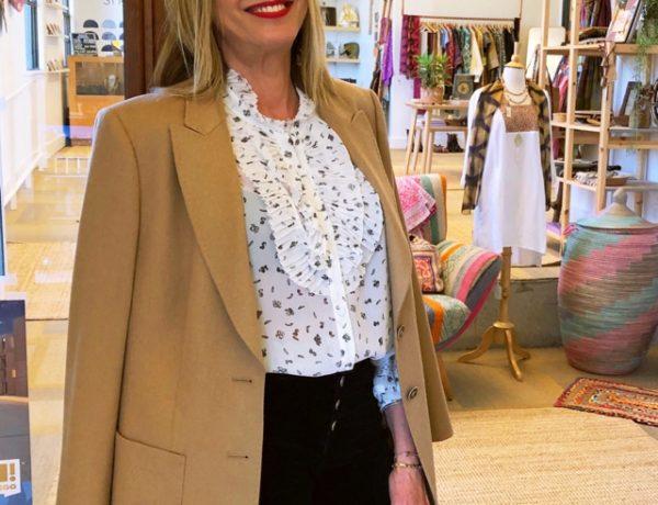 San Diego Camel blazer Nina Papaioannou
